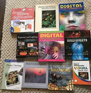 10 books on digital photography