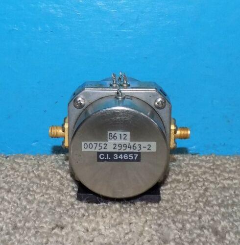 EDO Corp. 299463-2 Band Pass Filter 1.8-20.GHz Free Shipping