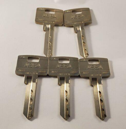 ASSA Twin 6000 Sweden Key Blanks 654-51