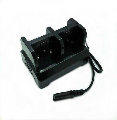 4-slot Battery Chargercharging Station Dock For Trimble Gps 54344 Batter