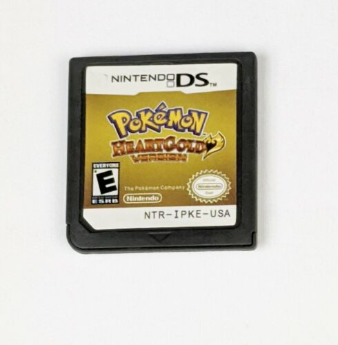 Pokemon Heart Gold Version ~ Nintendo DS NDS