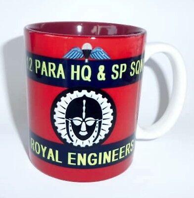 12 Para HQ & Sp Sqn Royal Engineers Mug 12 Parachute RE Mug Sapper Cup
