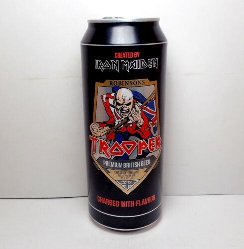 "Limited Edition IRON MAIDEN ""Trooper"" Beer Can ( Sweet !! )"