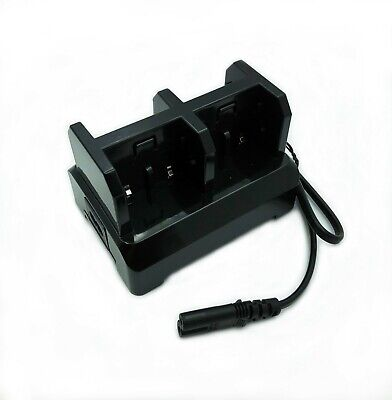 4-slot Battery Chargercharging Station Dock For Trimble Gps 54344 Battery