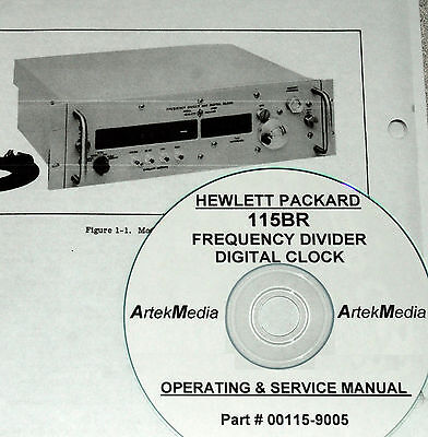 Hp 115br Digital Clock Operating Service Manual