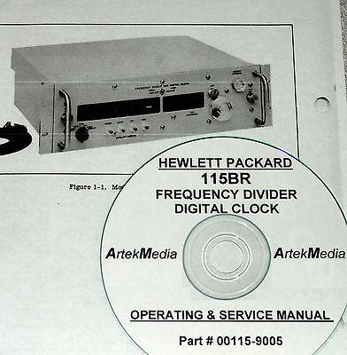Hp 115br Digital Clock Operating Service Manual