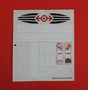 LEGO® Aufkleber 4513 Sticker Bahnhof Train Eisenbahn 4513stk01 7997 60050 7937