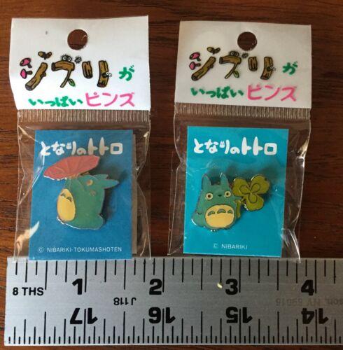 Lot of 2 Studio Ghibli Totoro and Chibi Enamel Pins