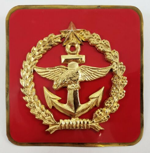 Indonesia National Armed Forces Army TNI license plate automobile medallion