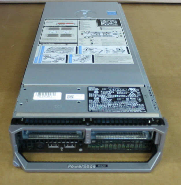 Dell PowerEdge M620 Blade Server 2 x E5-2660 Eight Core XEON 96GB Ram