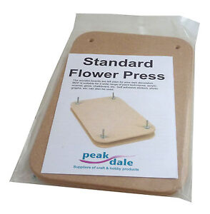 Standard Wooden Flower Press Flower Pressing ideal for craft embellishments etc.