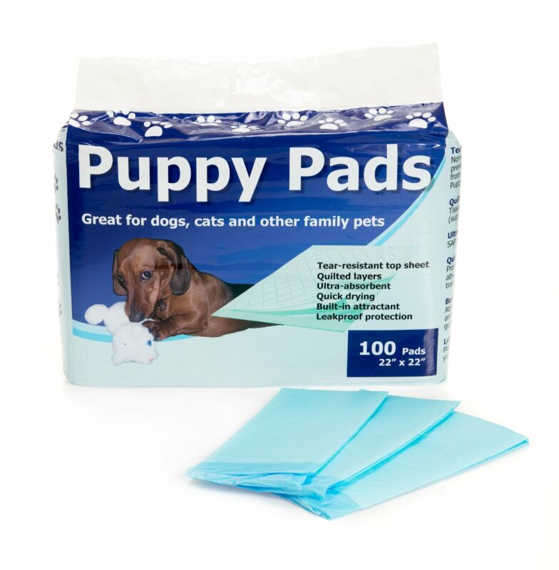 """Puppy Training Pad Heavy Absorbency 22 x 22"""" from Cypress TP2222B 100 ct"""