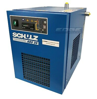 Schulz 20 Cfm Refrigerated Compressed Air Dryer 115v For 5hp Compressors Max