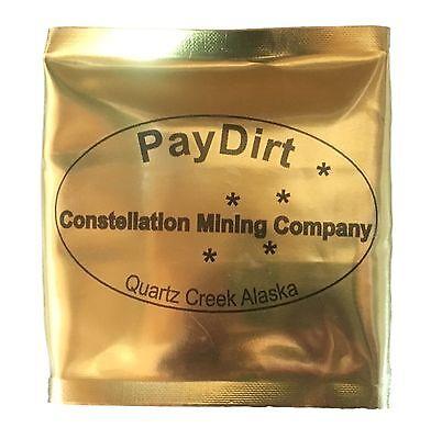 Alaska Paydirt 1lb - Gold Guaranteed!  Free Shipping.