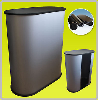 Podium Counter Stand Table Pop Up Trade Show Display - Black S1
