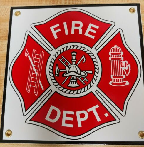 Signs - Fire Dept. - Made in the U.S.A. Great Sign , Firefighting & Rescue !