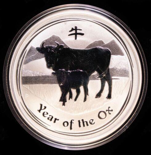 2009 Australian Year of the Ox 1oz Coin