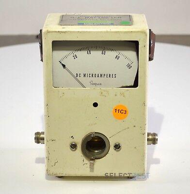 Sola Dielectric 1001-a Rf Wattmeter Ref 296