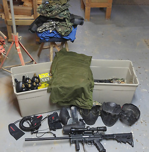 Selling my paintball arsenal