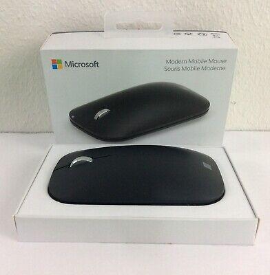 Microsoft Surface Wireless BlueTrack Sensor Modern Mobile Mouse - Black
