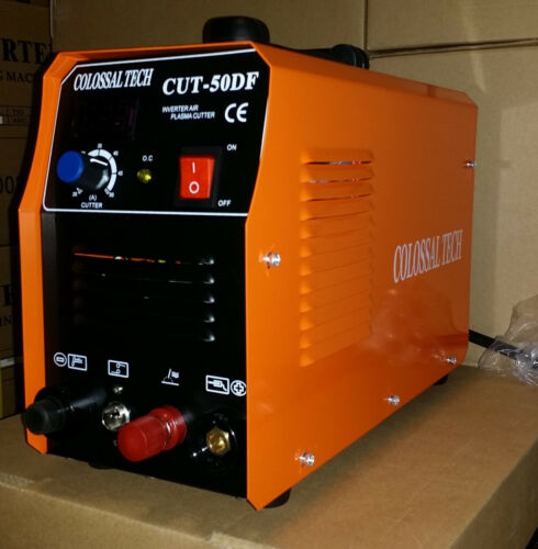 Pilot Arc Plasma Cutter CUT50DF 50AMP 110V/220V Dual Voltage & 18 Consumables