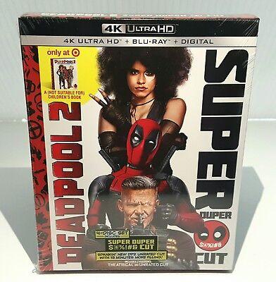 DEADPOOL 2 [4K UHD + Blu-ray + Digital] <TARGET EXCLUSIVE>