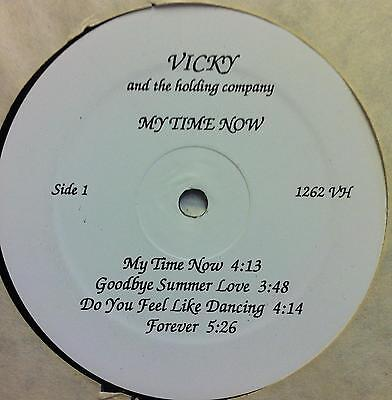 Vicky   The Holding Company   My Time Now Lp Vg  Private Psych Pop Latin