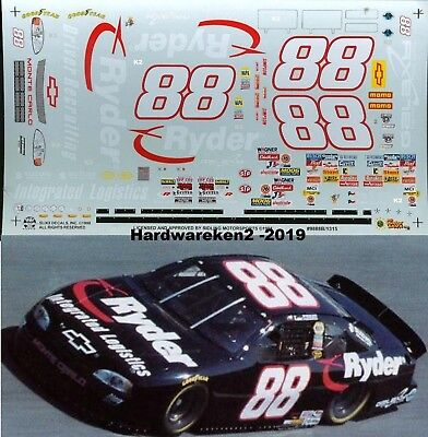 NASCAR DECAL #88 RYDER 1998 BGN MONTE CARLO KEVIN LePAGE SLIXX
