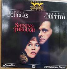 SHINING THROUGH (Laser disc) St Marys Mitcham Area Preview