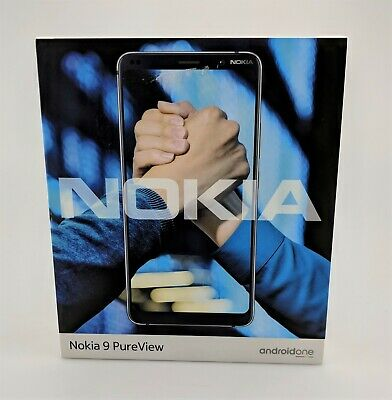 Nokia 9 PureView 128GB TA-1082 Unlocked Midnight Blue In Box Fair Shape