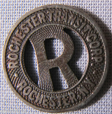 Rochester New York Transit Token From My Old Token Collection whotoldya Lot 9742