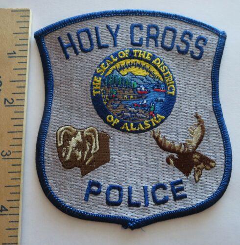 HOLY CROSS ALASKA POLICE PATCH Vintage Original