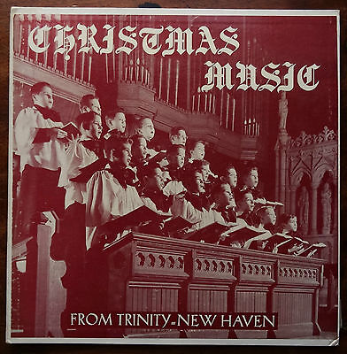 Trinity Church, New Haven, Connecticut - Christmas Music (1955 Private Press LP)