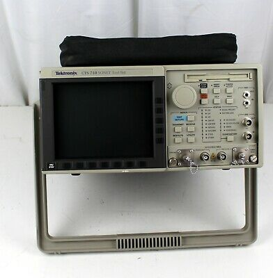 Tektronix Cts710 Sonet Test Set For Parts Or Repair Sold As Is