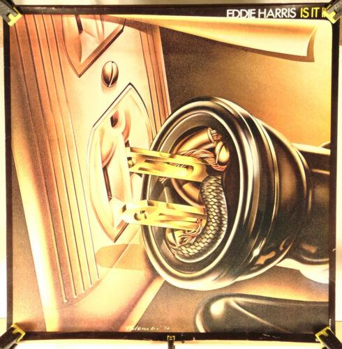 EDDIE HARRIS--Is It In--Promo Poster