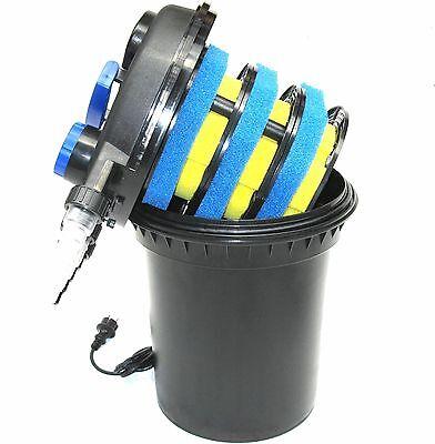 CPF250 UVC Druckfilter Druckteichfilter 11000 L mit 11W UV Wasserfilter 55094