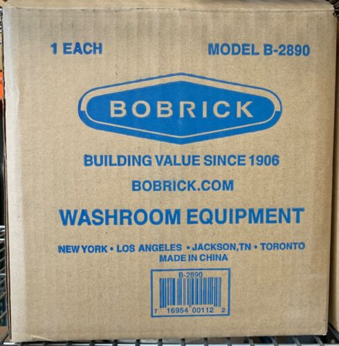 Bobrick B-2890 Classic Toilet Paper Dispenser Stainless Lockable - FREE SHIPPING