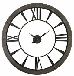 Uttermost Ronan Wall Clock, Large 06084