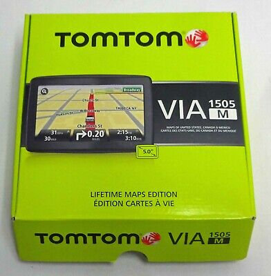 TOMTOM VIA 1505M GPS NEW