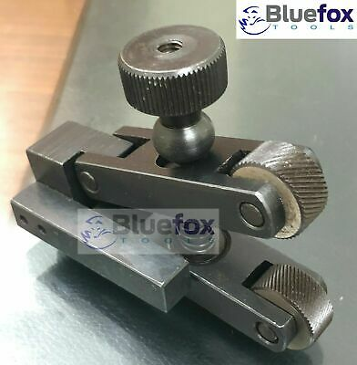 Knurling Tool V Clamp Type Holder 5-20mm Capacity For Mini Lathe Bluefox