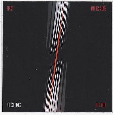 The Strokes STICKER First Impressions 2006 OFFICIAL PROMO NEW Mint CHEAP!