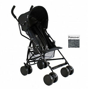 NEW RED KITE PUSH ME 2 U STROLLER BABY BUGGY LIGHTWEIGHT PUSHCHAIR BLACK