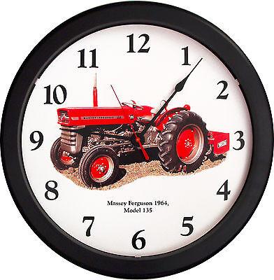 New Massey Ferguson Tractor Clock Model 135 Vintage 1964 Tractor Farmer Soil 14