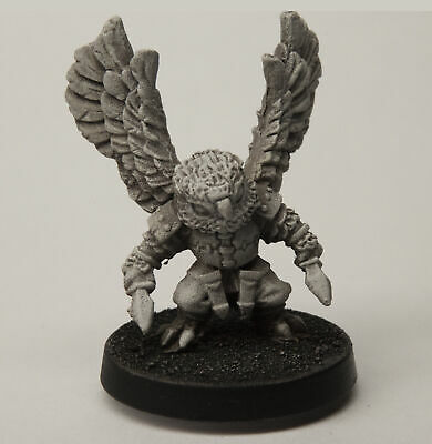Stonehaven Male Owlfolk Rogue Miniature Figure (for 28mm Scale Table Top War