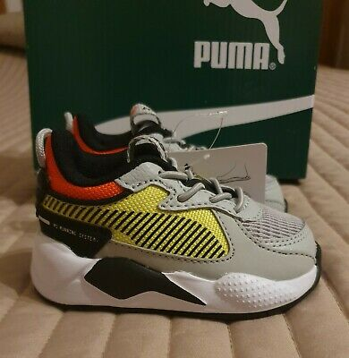 Puma RS-X Hard Drive Infant Baby Boys Walking Trainers Size 3 BRAND NEW (RRP£45)
