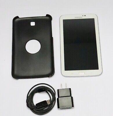 "Samsung Galaxy Tab 3 SM-T217S 7"" 16GB, Wi-Fi   4G (Sprint) Tablet - White"