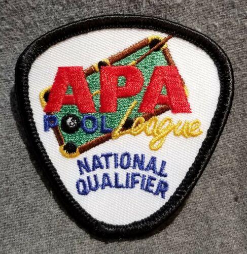 LMH Patch APA 8 9 Ball POOL League NATIONAL QUALIFIER American Poolplayer Assn.