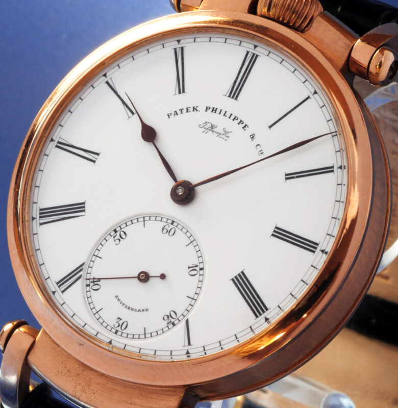 PATEK PHILIPPE & CO GENEVA SOLID 14K GOLD BEST QUALITY CHRONOMETER  – 1890 - watch picture 1