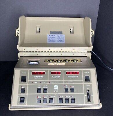 Maico Ma41 Audiometer Air Bone Speech Hearing Tester With Accessories Ma 41