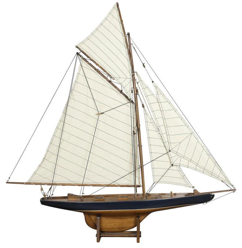Authentic Models AS108F America's Cup Columbia 1901, 37 inch Model Sailboat